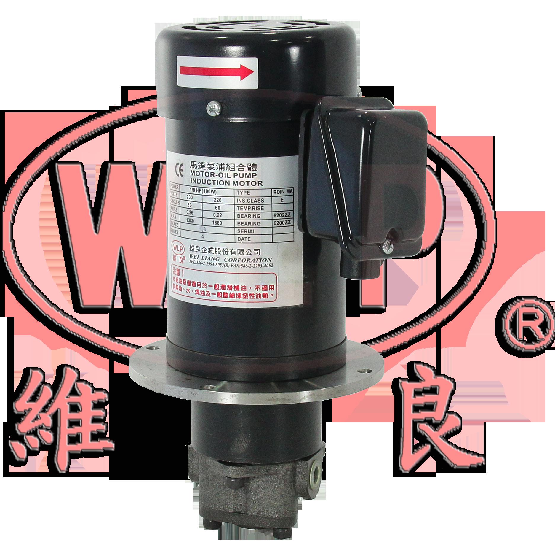ROP-1MAL-1/8HP型立式馬達泵浦